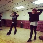 Hollie Wood Trippy Rehearsal