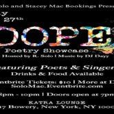 #DOPE Poetry Showcase